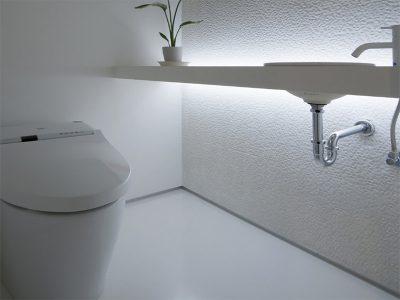 モダンなトイレ
