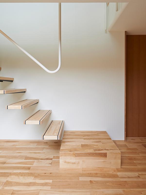 ナカニワの家の階段