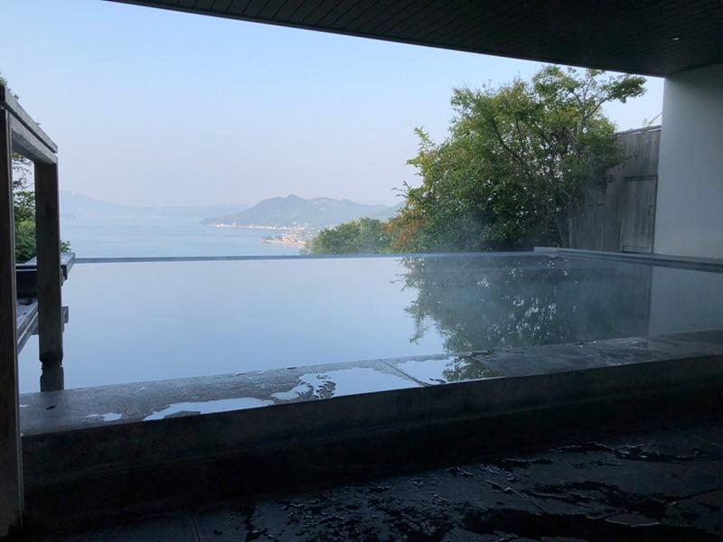 ベラビスタの露天風呂