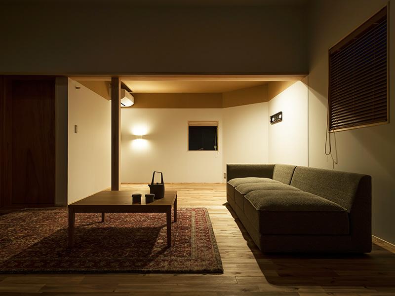 リビングと寝室